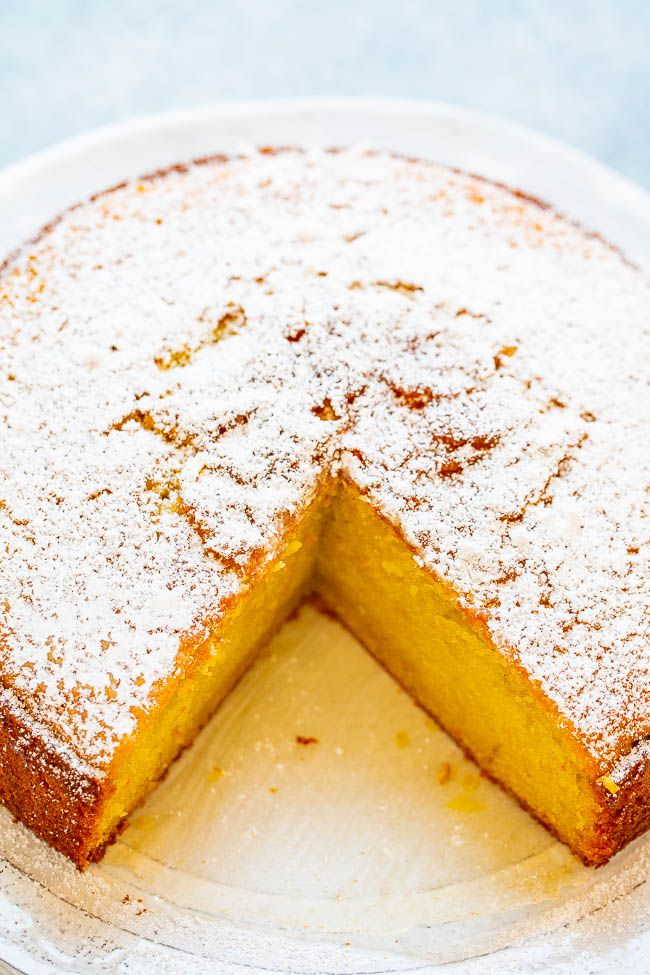 Orange Olive Oil Cake #oliveoils