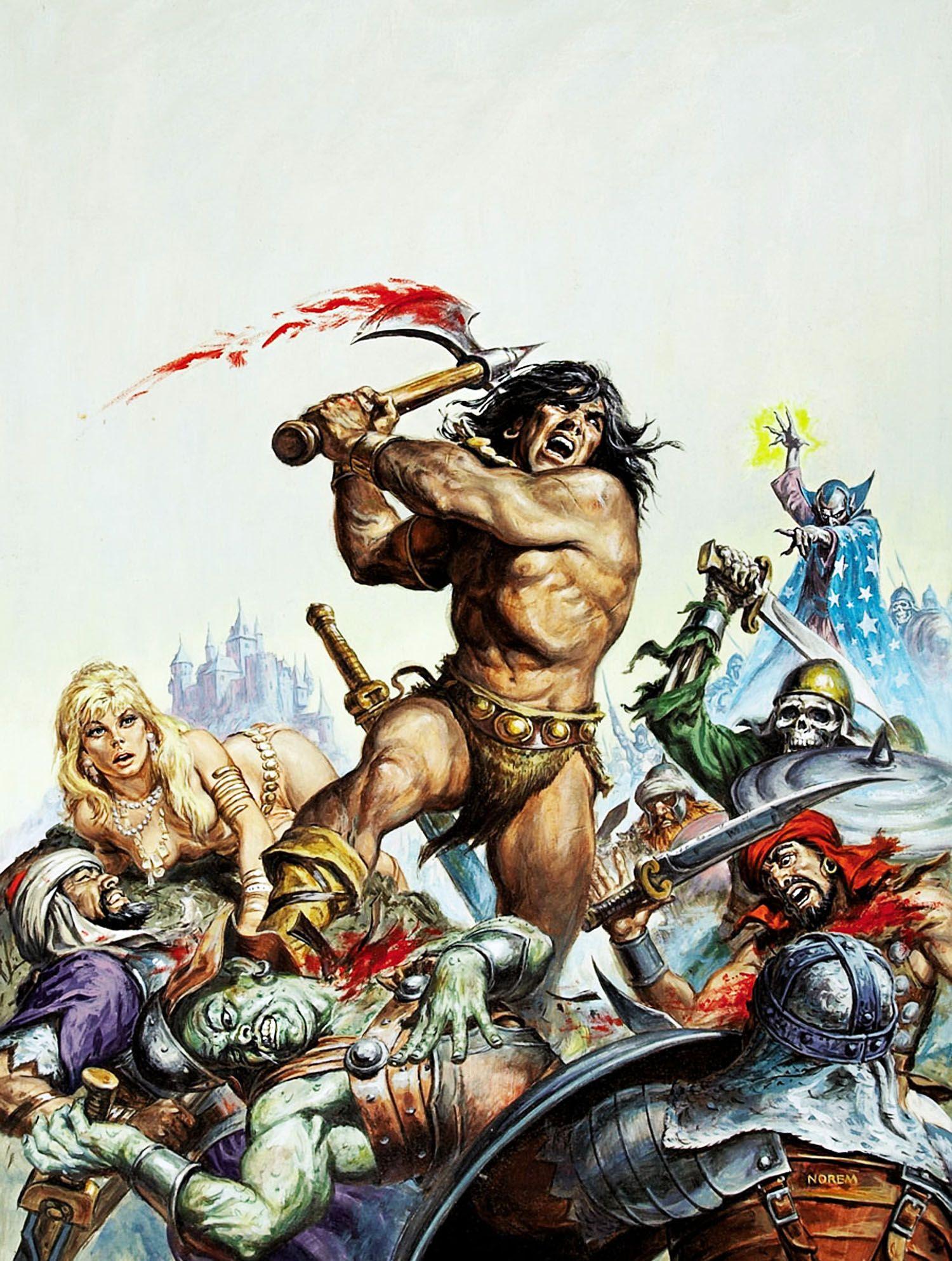 Beastman 3D Porn savage sword of conan 16 - earl norem | conan comics