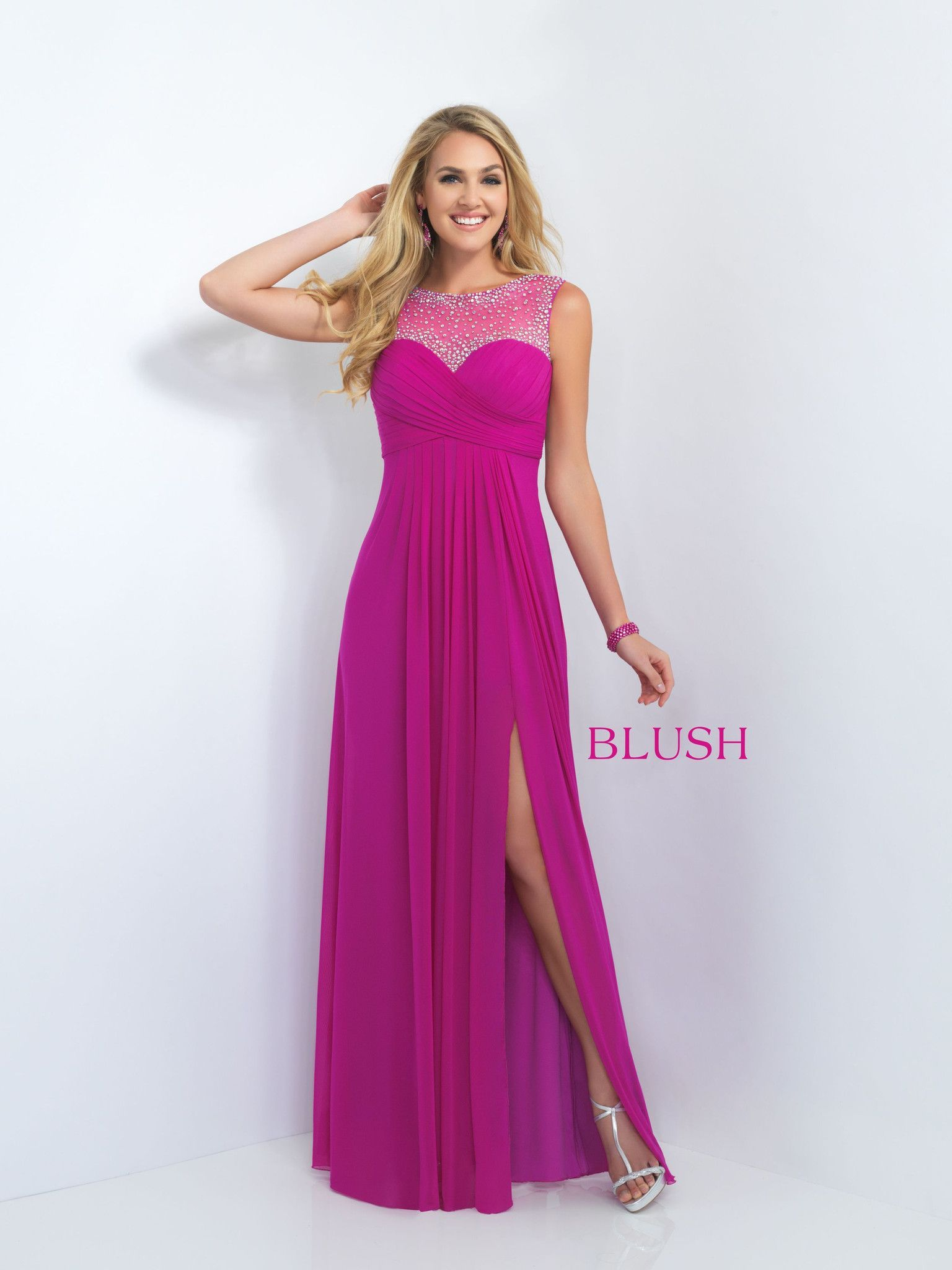 Blush Prom 11096 Magenta | Colorido y alegre | Pinterest | Blush ...