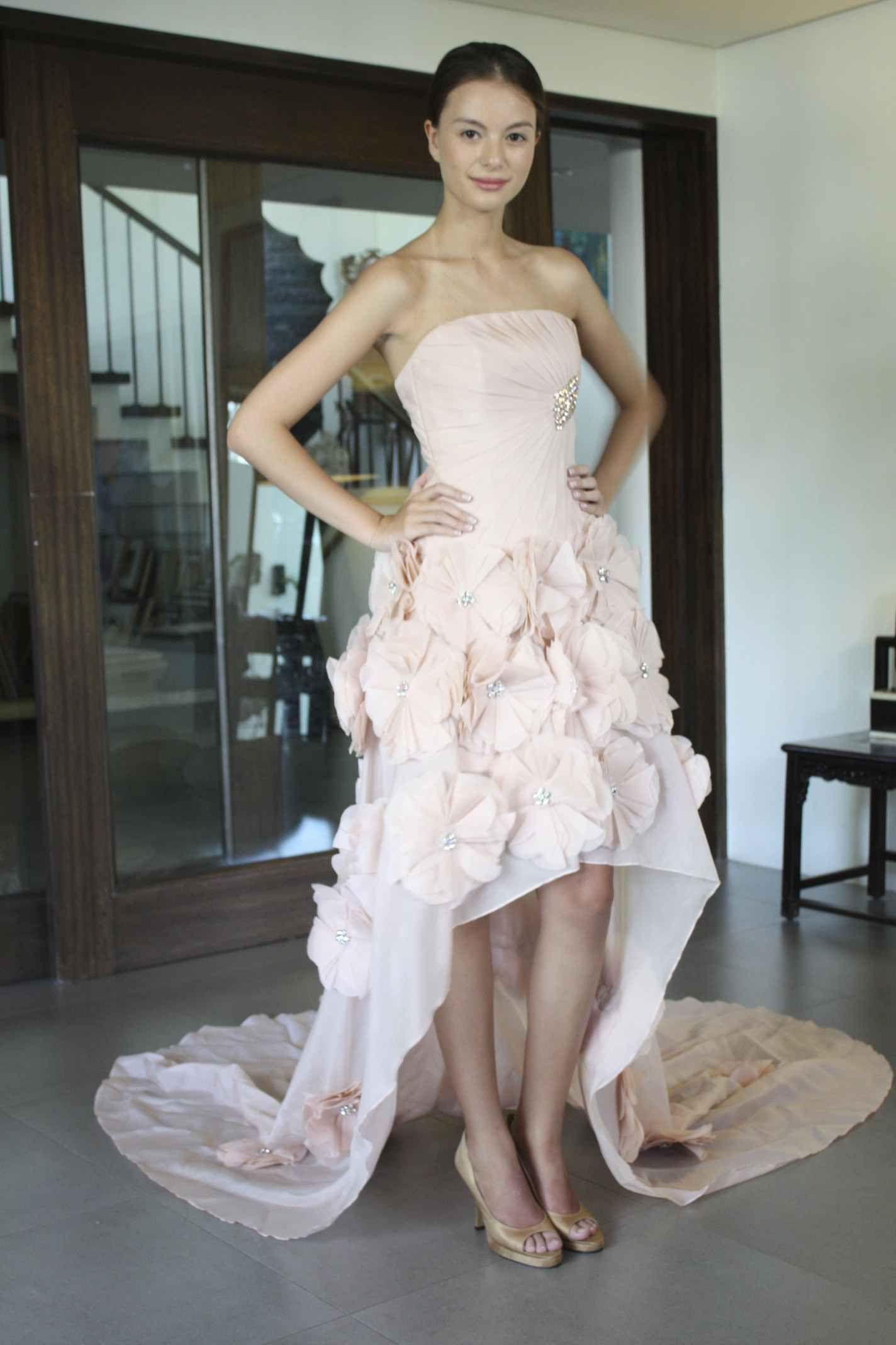 Rhett Eala | High Low/aka Mullet Wedding Gowns | Pinterest | High ...