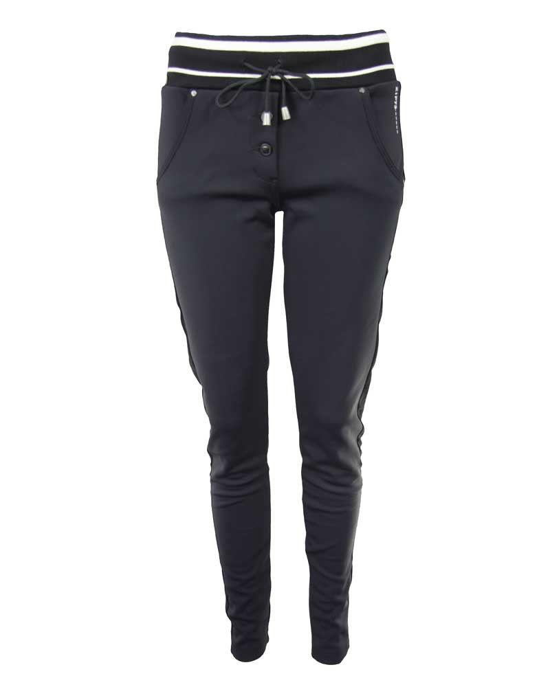 Zip73 714030 S216 broek zwart | Broeken, Zwart, Mode
