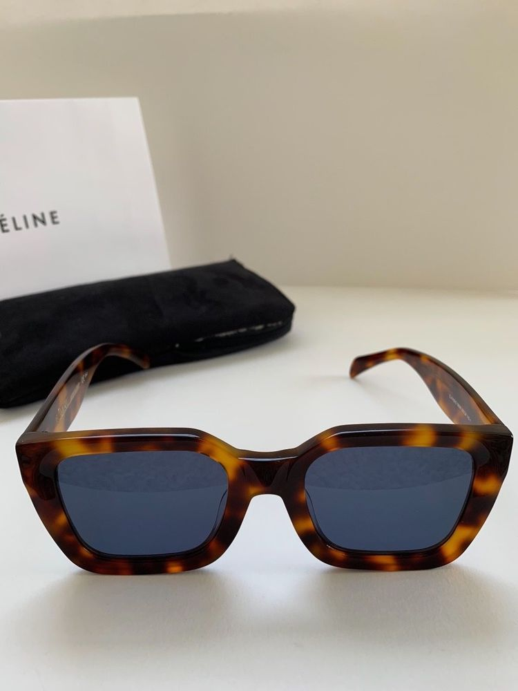 dabb393ce39 new Authentic Celine Kate CL 41450 086IR Dark Havana tortoise Sunglasses   fashion  clothing  shoes  accessories  unisexclothingshoesaccs   unisexaccessories ...