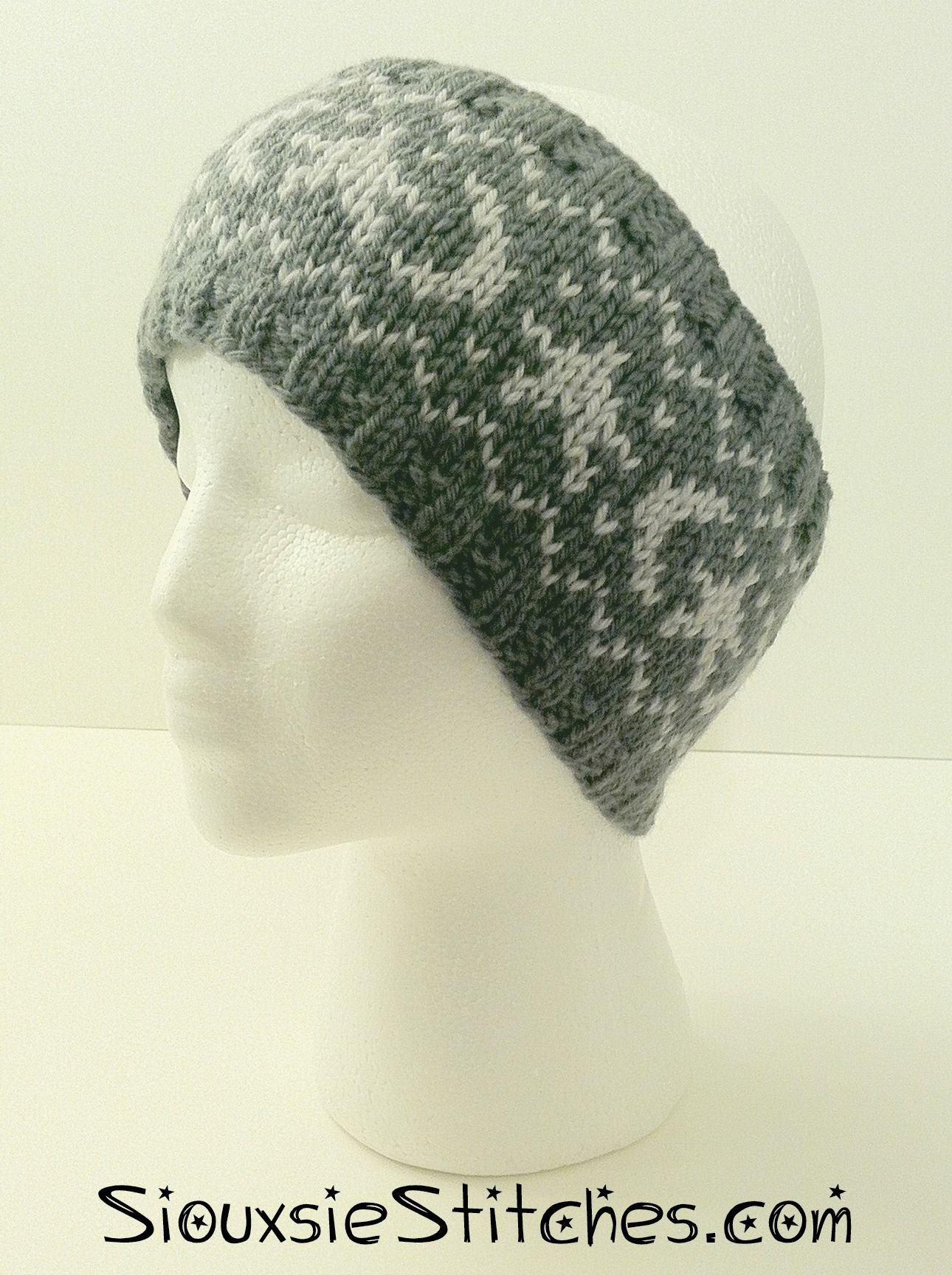 A Crown of Moons and Stars - free knitting pattern from ...