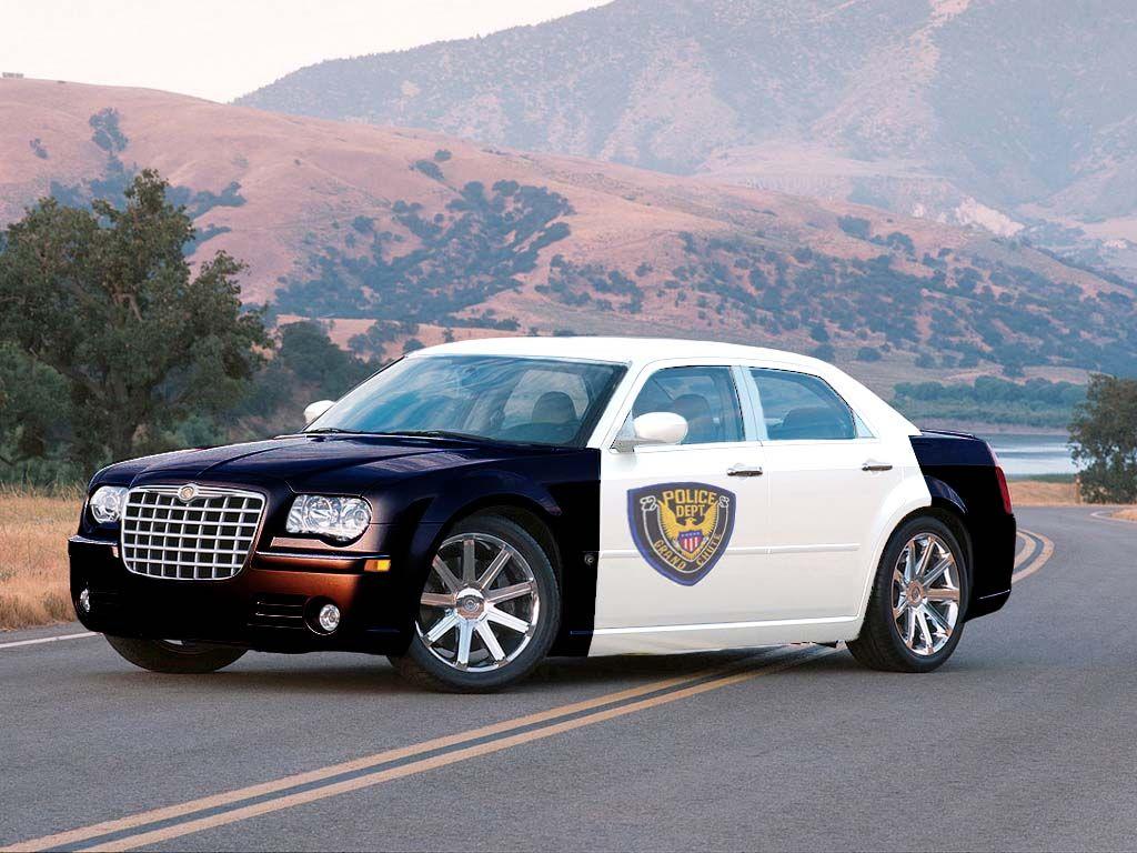 On Police Vehicles Emergency Cars Chrysler 300c Rear Wheel Drive