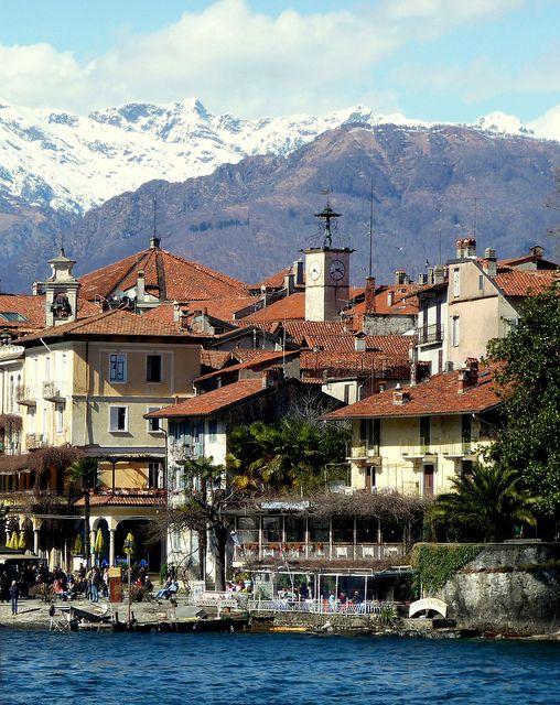 Italy Map Lake Maggiore