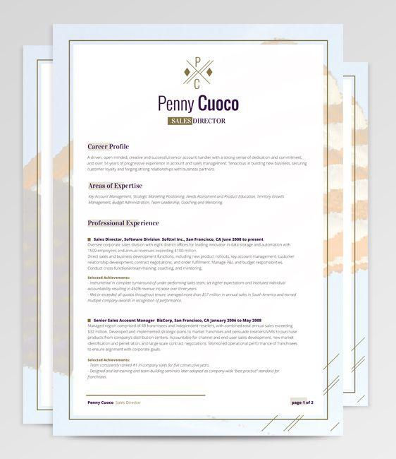 Resume Template Tauri Merope RockStarCV Miss Kinders Resume - resume template