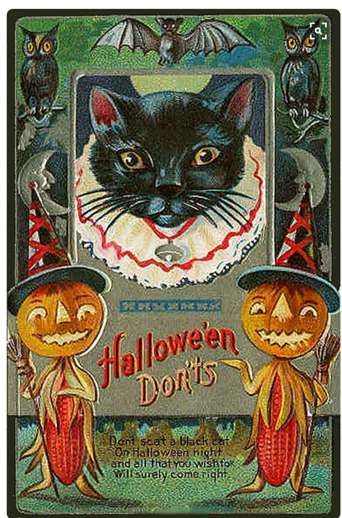 Pin by Ed Derwent on Halloween Postcards and Novelties
