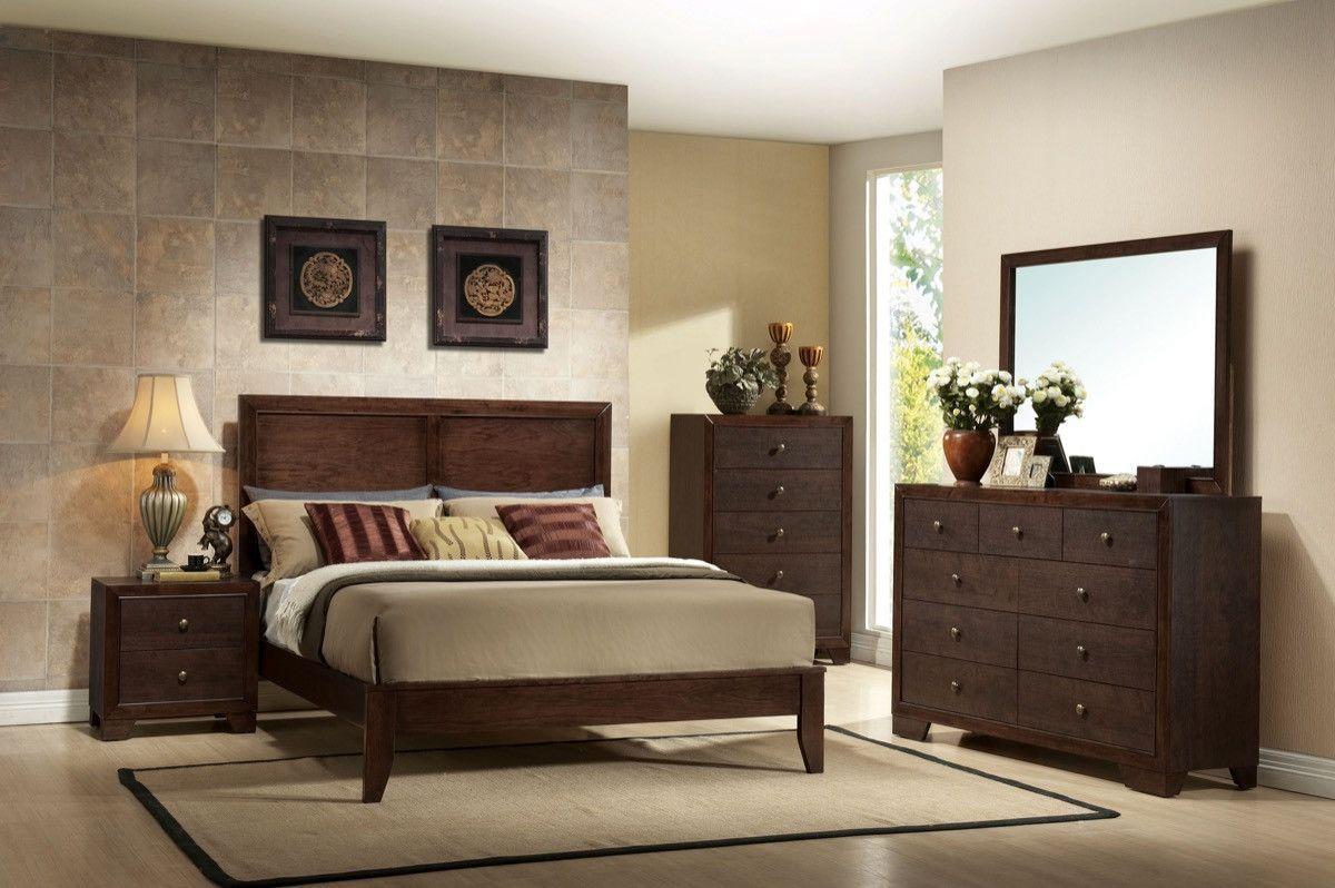 ACME Madison Queen Bed Espresso 19570Q Bedroom