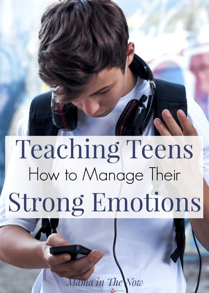 Photo of Teaching Teens How to Manage Their Strong Emotions
