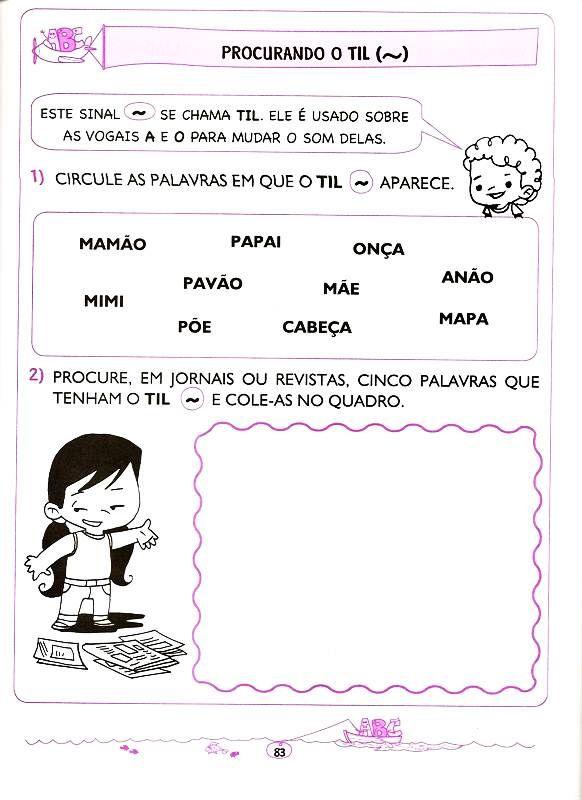Lingua Portuguesa 5 E 6 Anos 71 Atividades Alfabetizacao E