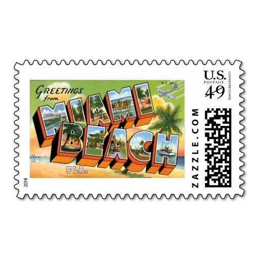 Greetings from Miami Beach, Florida Postage Stamp in each seller & make purchase online for cheap. Choose the best price and best promotion as you thing Secure Checkout you can trust Buy bestThis Deals          	Greetings from Miami Beach, Florida Postage Stamp please follow the link ...