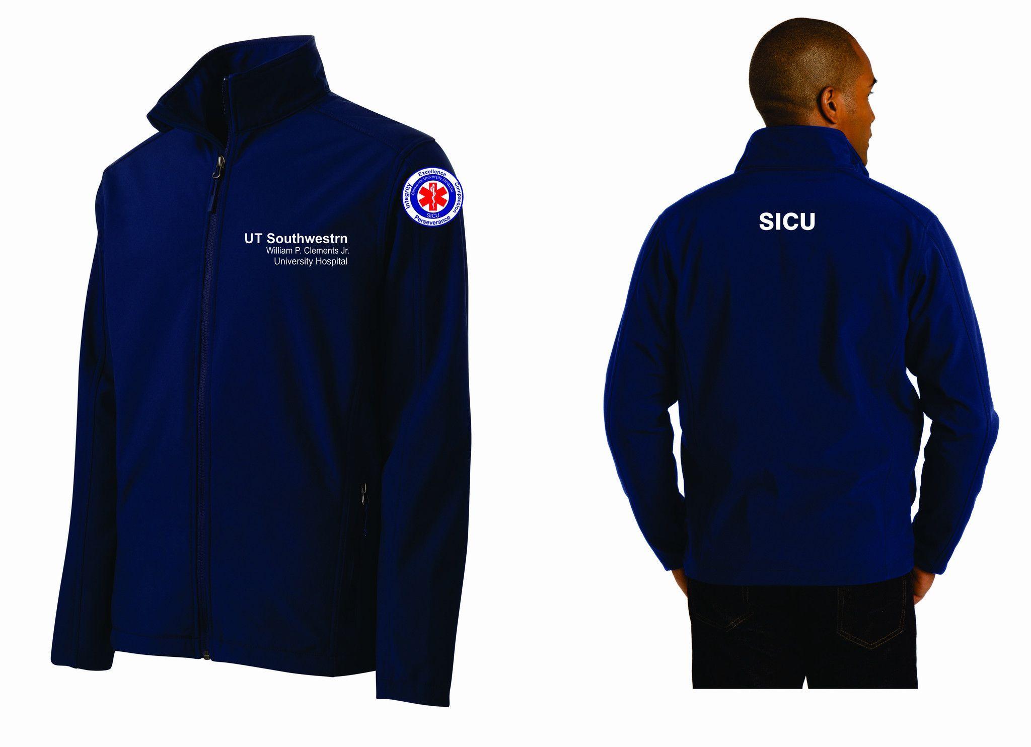 UT SICU Soft Shell Male Jacket J317 | Products | Jackets