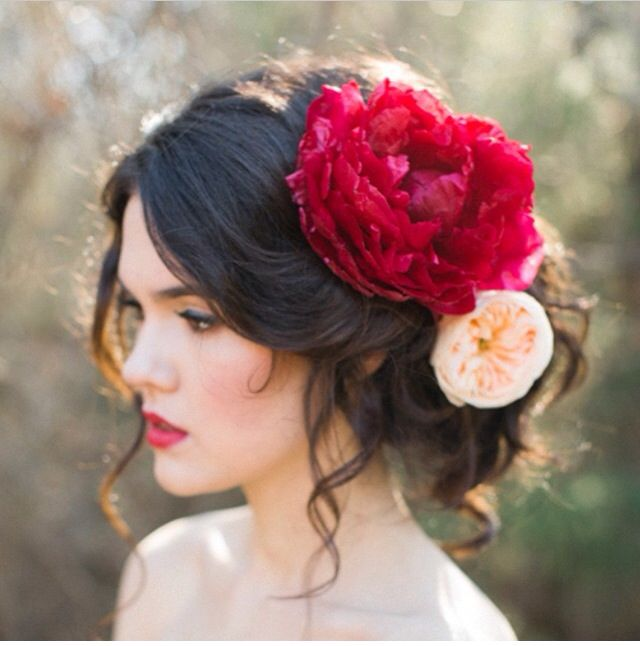 Flowers | Hair | Pinterest | Flowers, Hair style and Hair inspiration