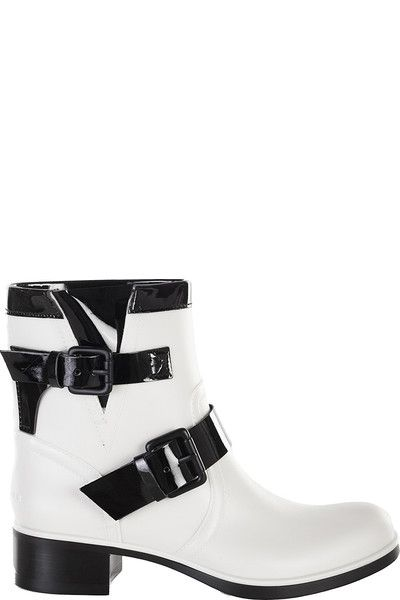 Buckle Strap Stitching Ankle Boots - Black 38 clearance official outlet many kinds of looking for cheap online 100% authentic online discount prices Qhid6zb