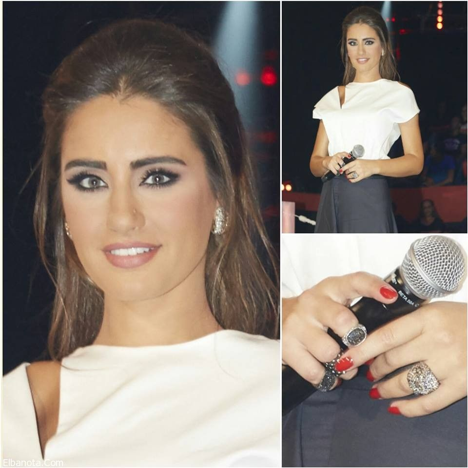 إطلالات إيميه صياح في برنامج 2015 The Voice