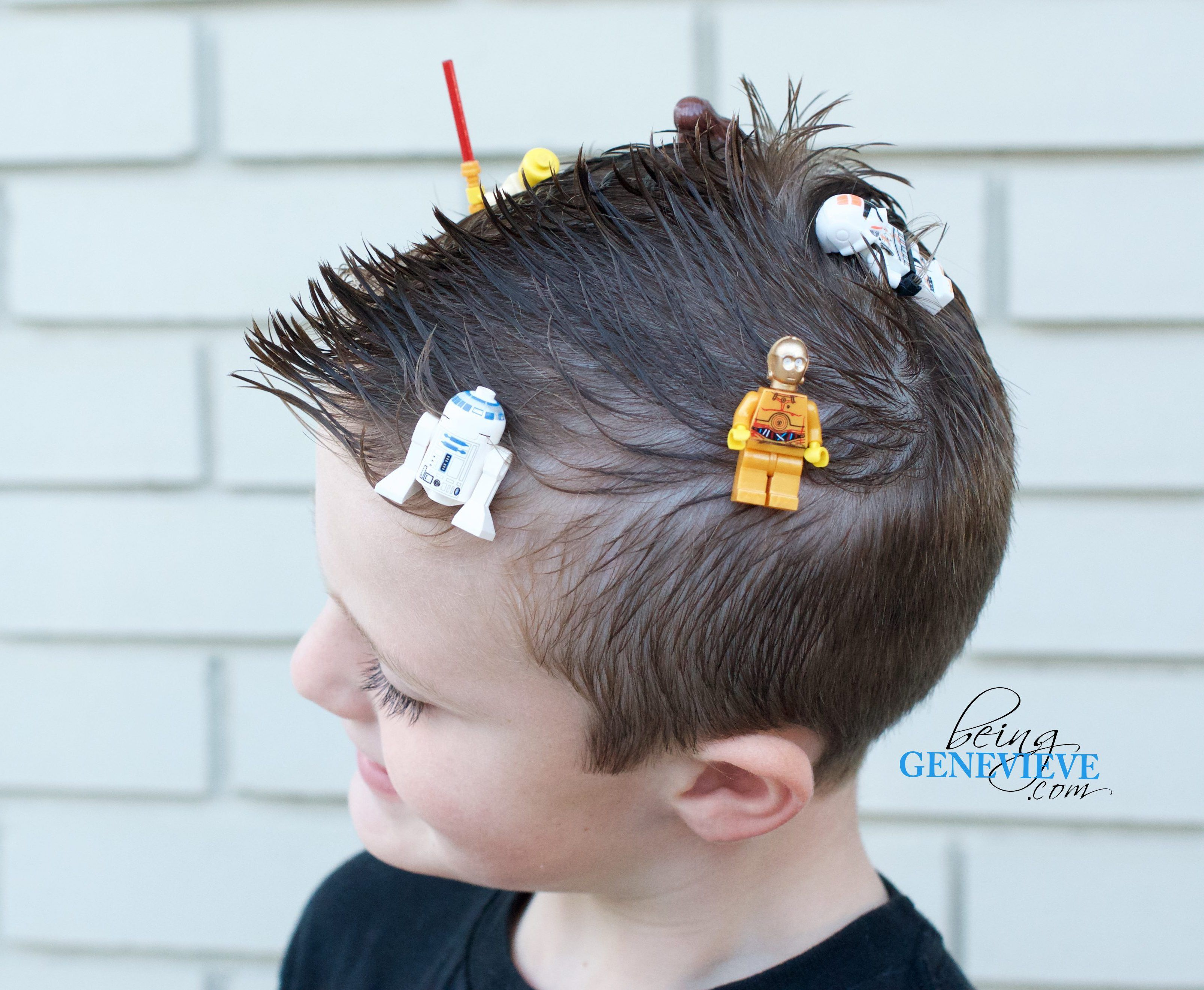 Crazy Awesome Lego Hair Beinggenevieve Com Need An Awesome Crazy Hair Day Idea For Your Boy Or Girl With Really Sho Wacky Hair Wacky Hair Days Crazy Hair