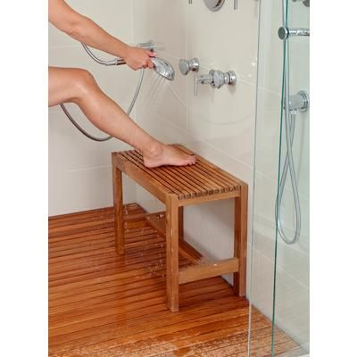 Arb Teak Specialties Fiji Teak Shower Bench 24 Inch Ben530