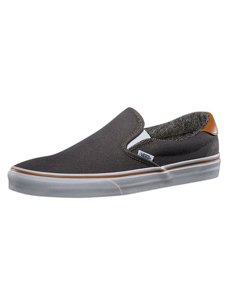 45a8c066ba Vans Pewter Tweed Slip On 59 Trainers in Clothes