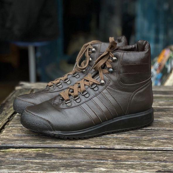 Original 1970 S Adidas Zurs Hiking Boots Made Depop Hiking Boots Boots Adidas