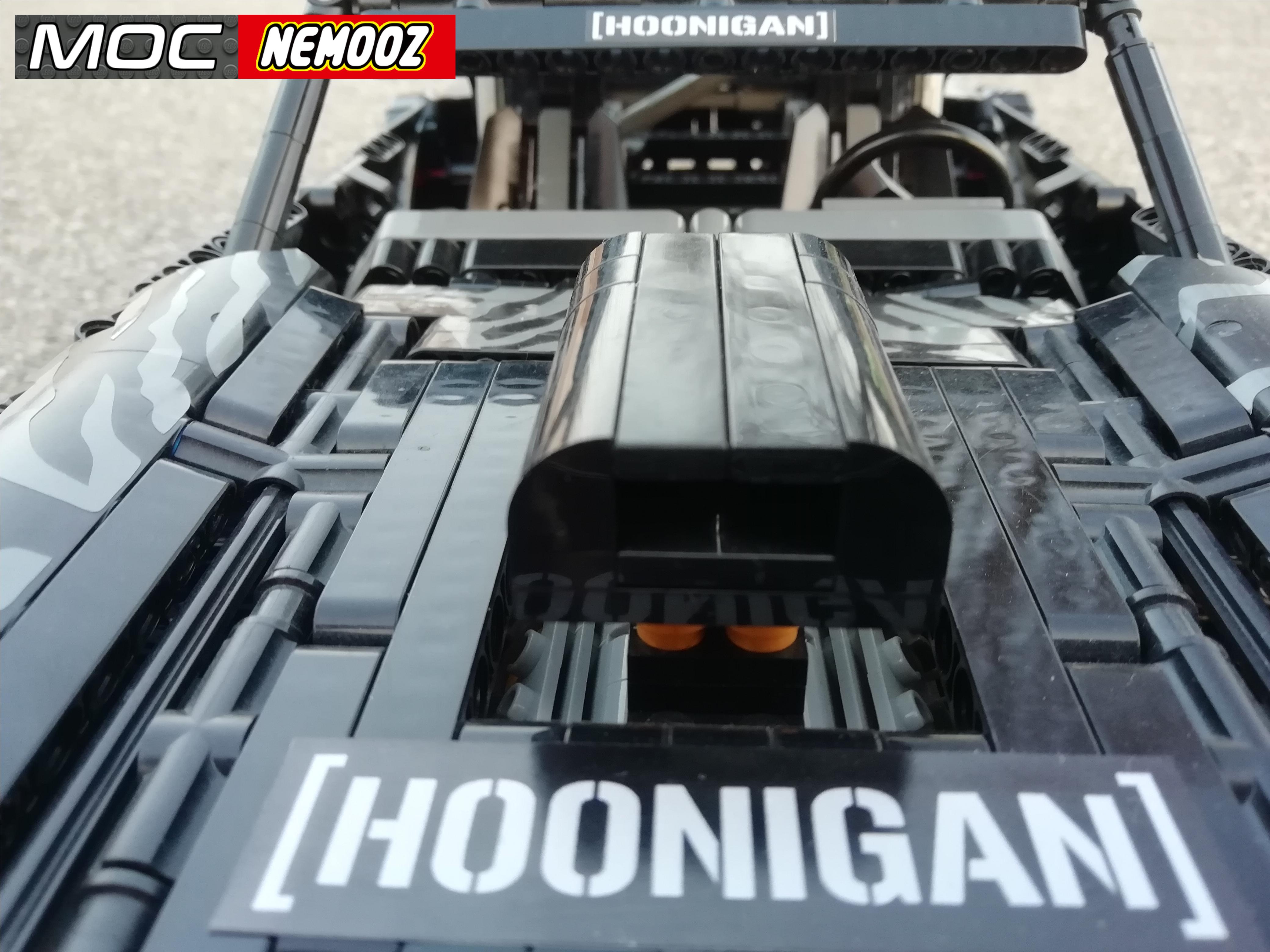 Mustang Hoonigan V1 Moc Nemooz Mustang Lego Technic Pony Car [ 3120 x 4160 Pixel ]