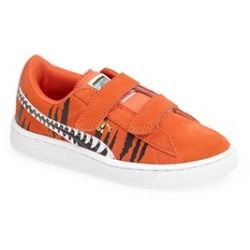 PUMA 'Chemical Comic' Suede Sneaker (Baby, Walker, Toddler & Little Kid) Orange 2 M - product - Product Review