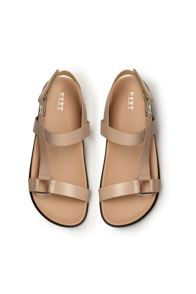 ba8c581168c26d Womens Next Nude Signature Luxe Footbed Sandals - Pink | Products in ...