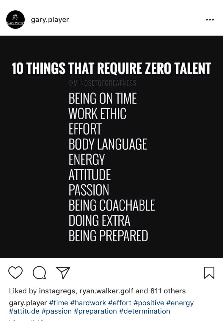 10 Things That Require Zero Talent Garyplayer And