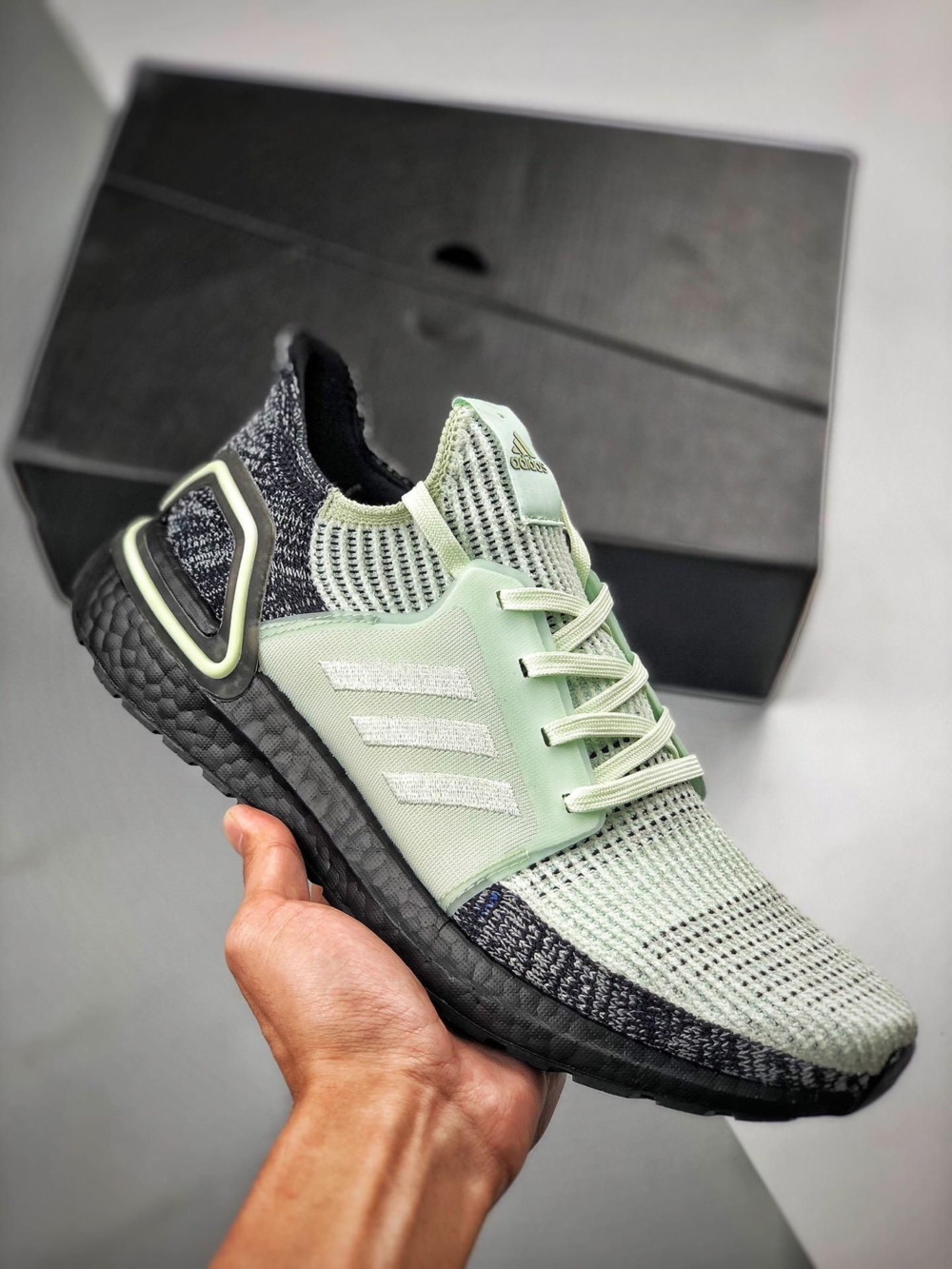 Adidas Ultraboost 19 Black Mint Sale Price 72 Retail 180 Free Shipping In 2020 Sneakers Men Fashion Adidas Ultra Boost Trendy Sneakers