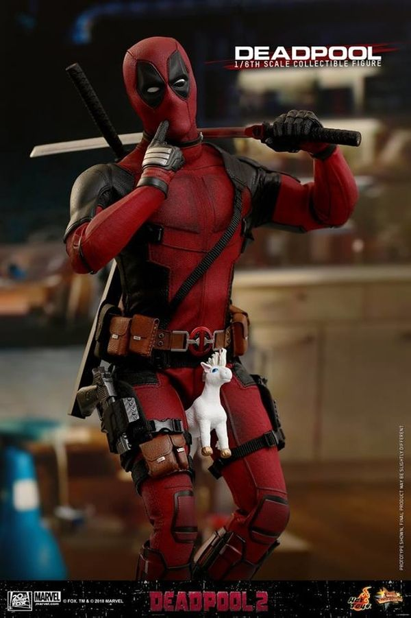 1 6th scale deadpool 2 collectible figure from hot toys marvel