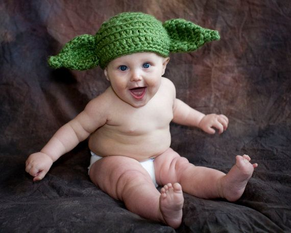 Pattern Yoda Baby Hat Crochet Dobby Star Wars By Thetwistedk