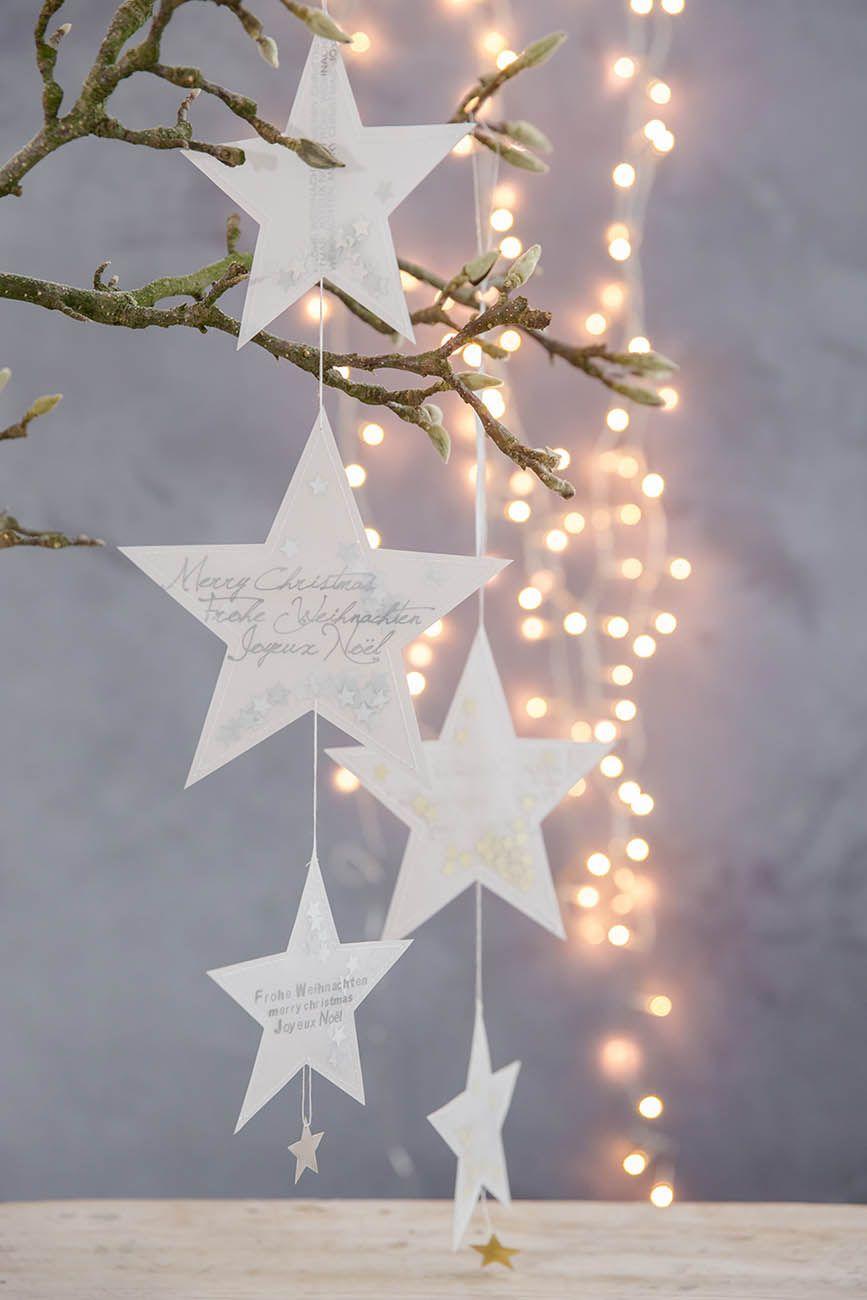 Erkmann Wohnen Design Geschenke Basteln Weihnachten Fensterdeko Weihnachten Fensterdeko Weihnachten Basteln