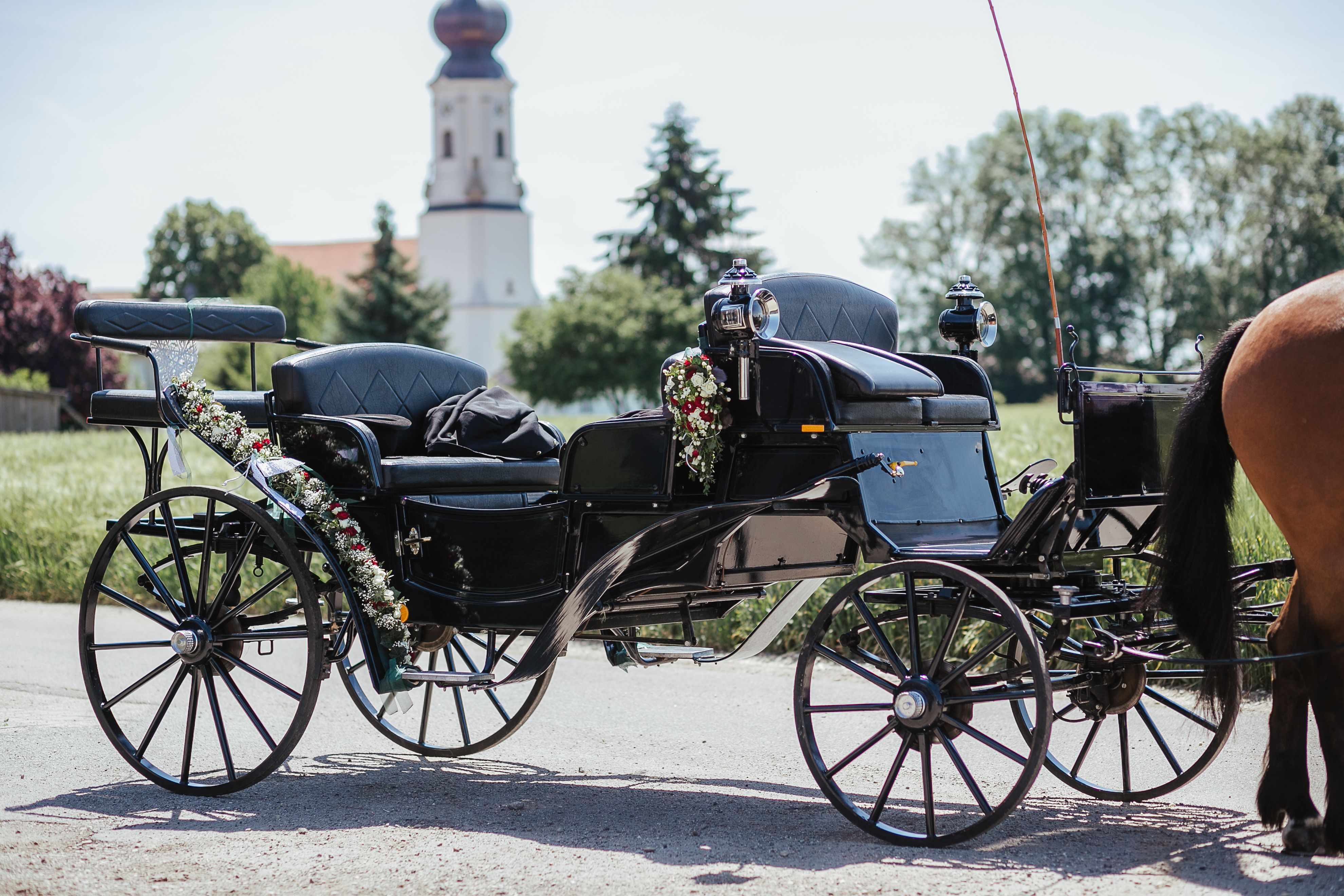 Hochzeitskutsche Wedding