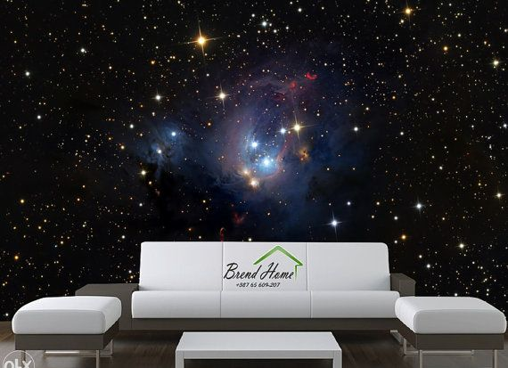 3D Universe MURAL, Self Adhesive Wall Covering, Nature Wallpaper, Peel And  Stick Part 72