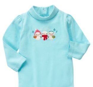 NWT Winter Cheer Snowman Turtleneck Tee - Size 3T - 1 available - $12 shipped