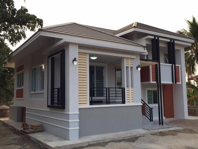 This house has bedrooms toilet and bath square meters of living space is designed as  half sized structure exterior walls also pinoy eplans pinoyeplans on pinterest rh