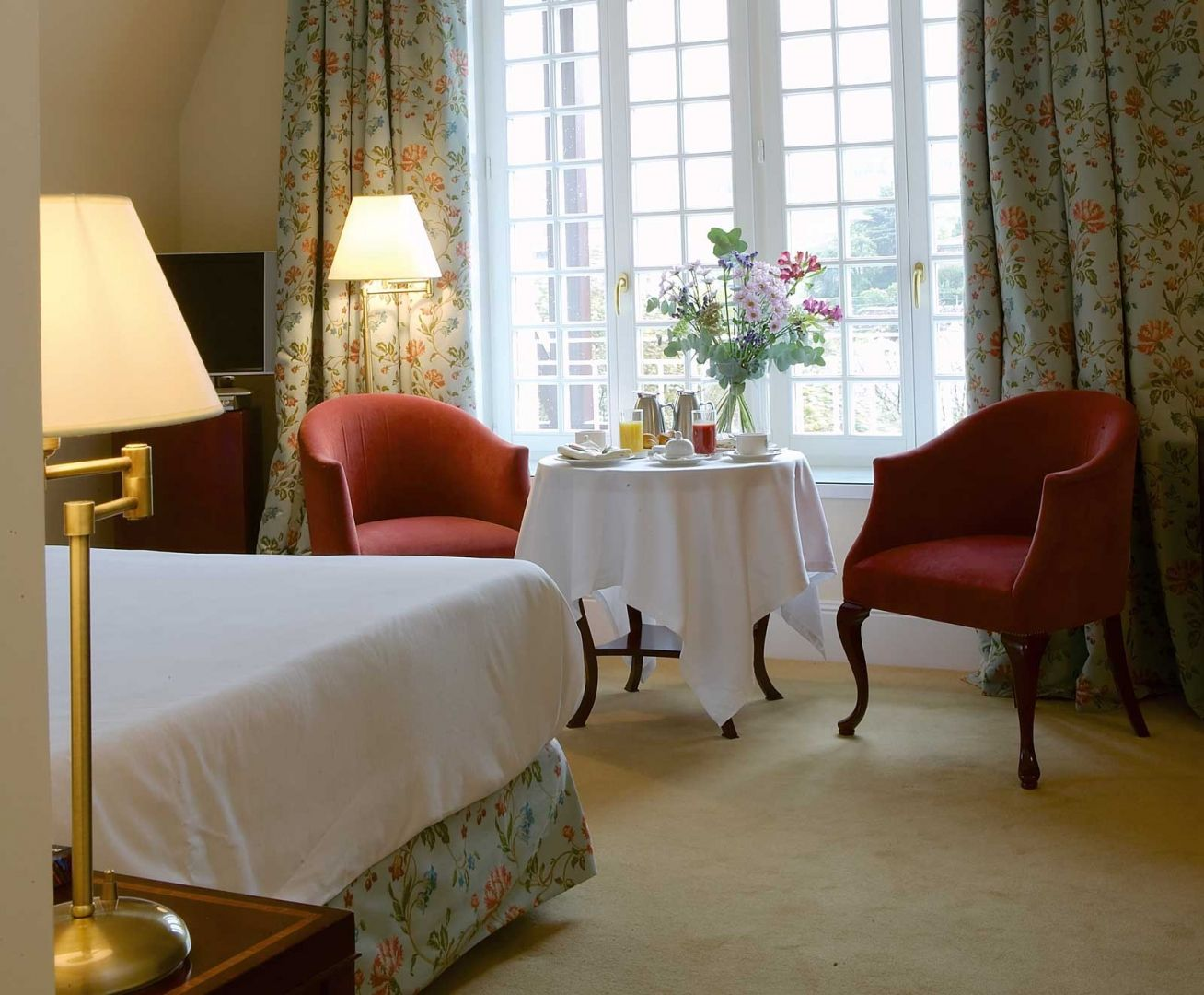 Villa Deluxe Room at the Villa Soro Hotel in San Sebastian