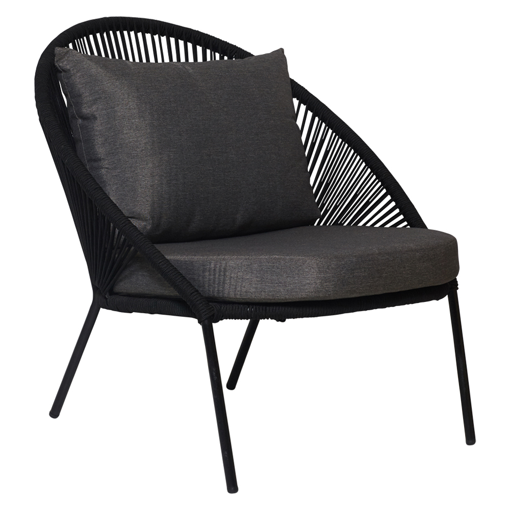 Ayla Outdoor Lounge Chair Black Matt Blatt Lounge Chair Outdoor Outdoor Chaise Lounge Chair Modern Outdoor Lounge Chair