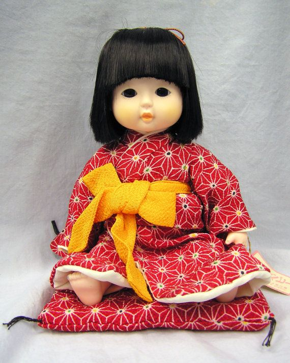 Doll japanese vintage indefinitely