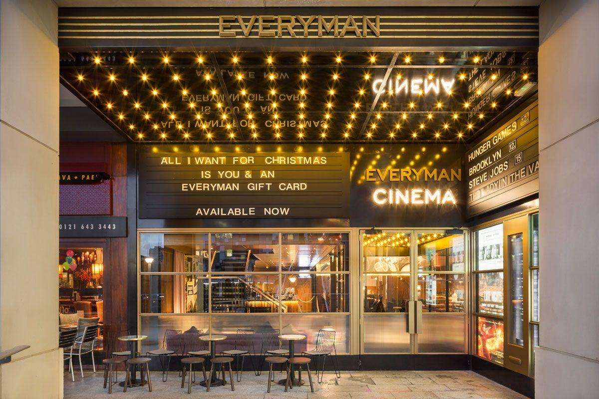 Everyman Mailbox LIGHTINGinto lighting INTERIOR Fusion cinema