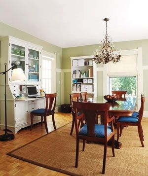 Office Space In Dining Room