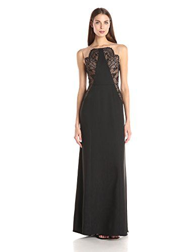 491fff401e3 BCBGMax Azria Womens Lilyana Woven Evening Dress Black 2 -- Check this  awesome product by going to the link at the image.