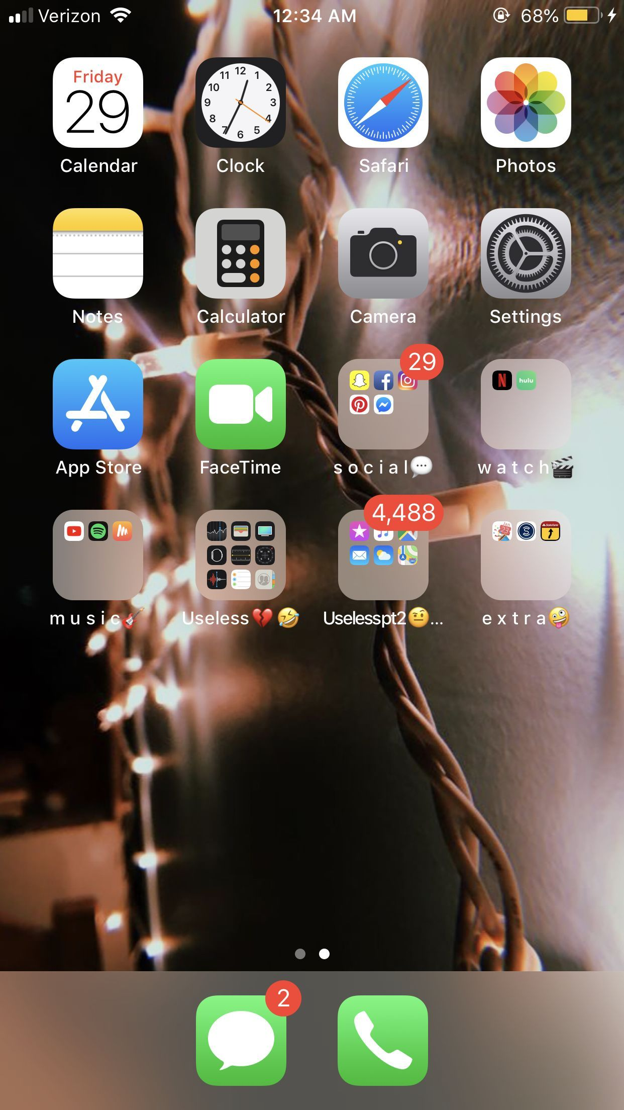 Organize Home Screen Aesthetic Iphone Organization In 2019 S Homescreen Iphone Iphone Organization Iphone Home Screen Layout