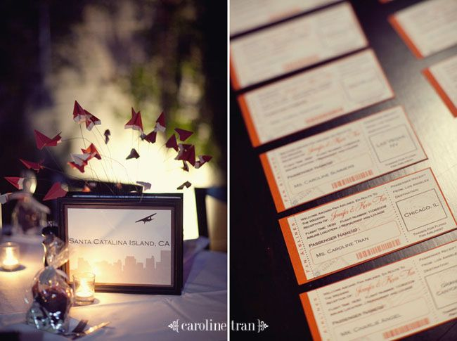Adrian And Jana Wedding Trends Travel Themed