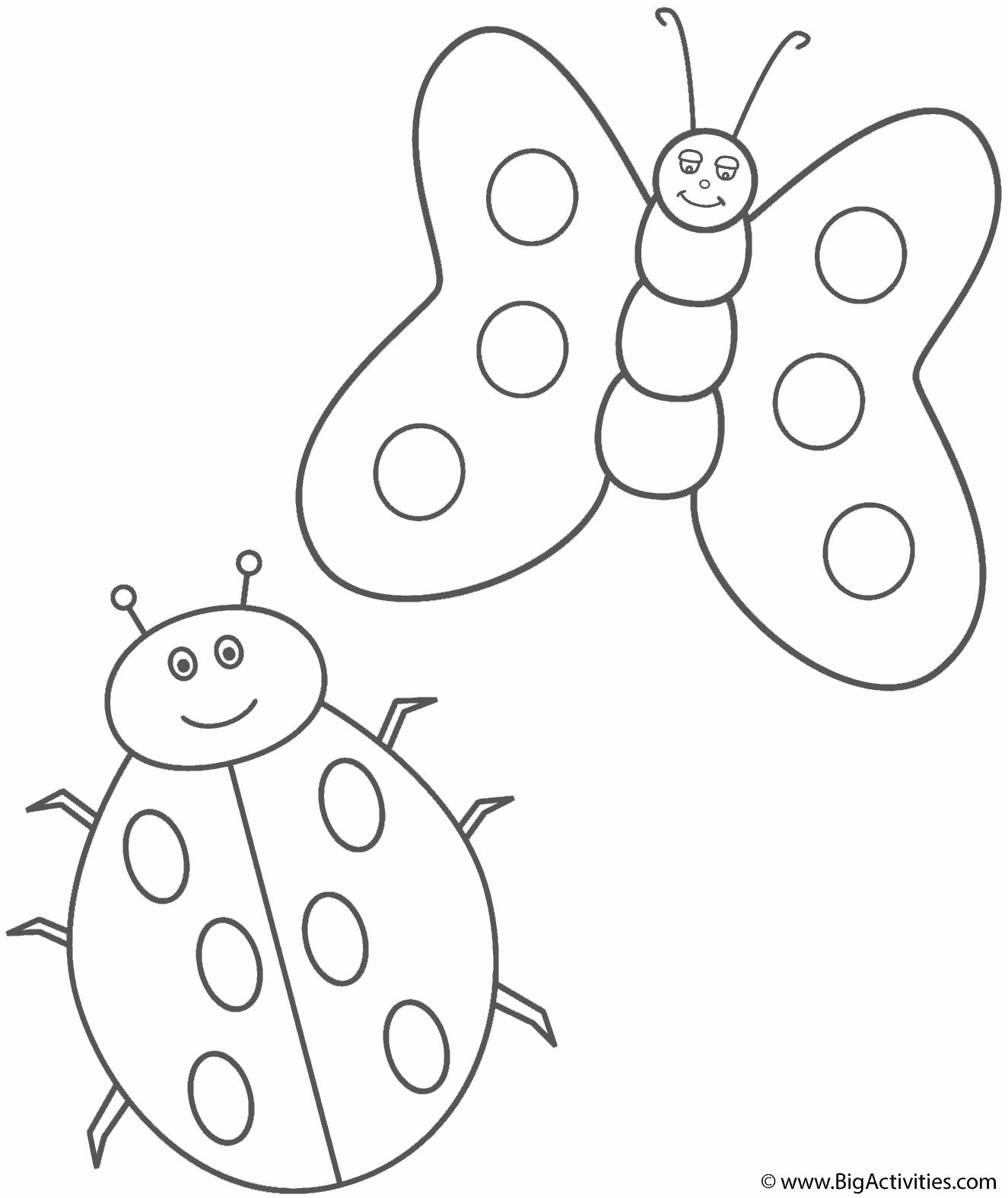 32 Lady Bug Coloring Page In 2020 Bug Coloring Pages Ladybug