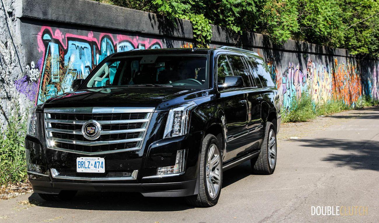 Cadillac escalade esv 2015 black