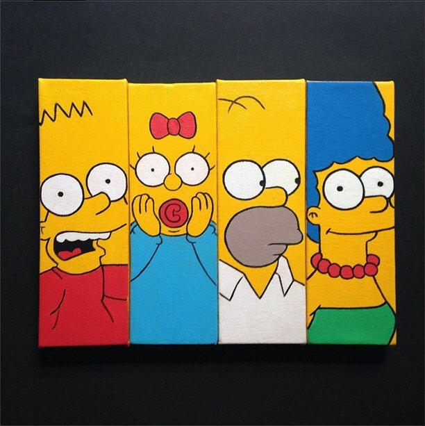 The Simpsons Family Mini Set