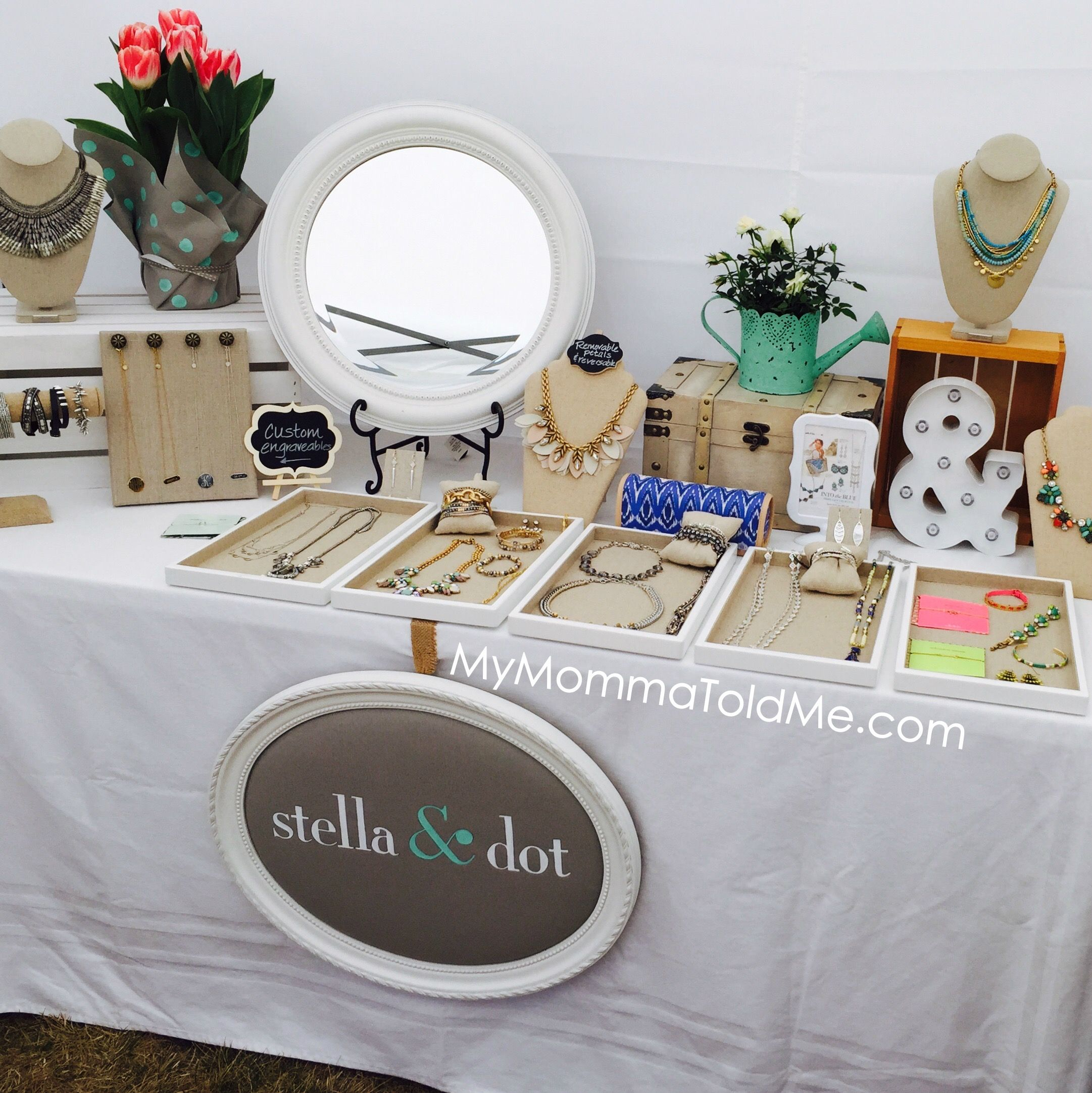 Table Display Ideas find this pin and more on at the markets craft fair display ideas part 2 Jewelry Party Table Display Ideas