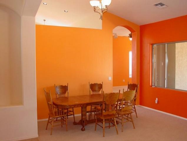 Google Image Result For Roseyadifileswordpress 2010 01 Dining Room With Orange On The Walls