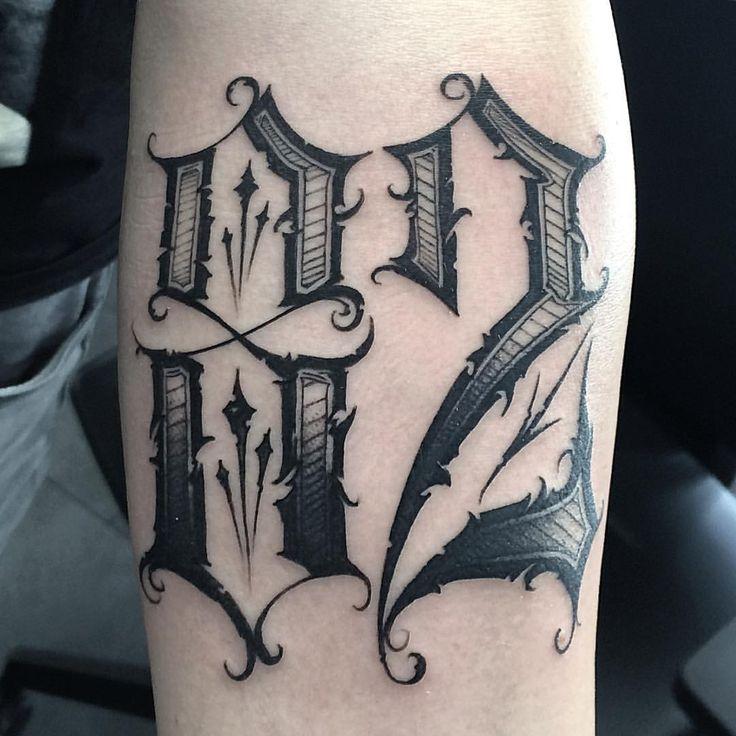 Estilos De Numeros Para Tatuajes