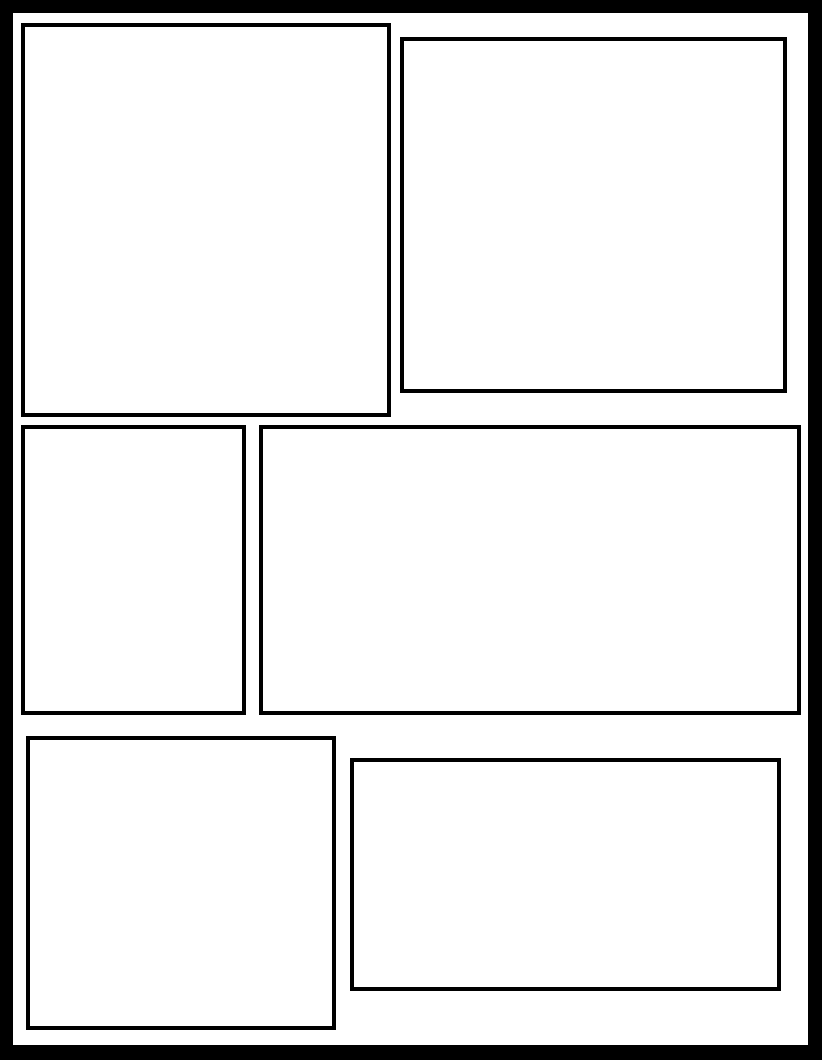 Manga Panel Template Google Search Best Picture For Manga Male For Your Taste You Are Looking For Somet In 2020 Comic Book Template Comic Template Comic Tutorial